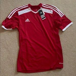 Adidas Red Soccer shirt